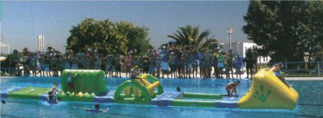 Parte la stagione estiva alla piscina comunale gonfiabili bar e beach volley  gonewsit