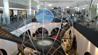 Business Lounge Turkish Airlines în Aeroportul Istanbul. FOTO Adrian Boioglu