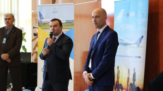 Cursa TAROM Timișoara - Iași. FOTO Aeroportul Timișoara