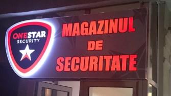 Magazinul de Securitate One Star Security. FOTO OSS