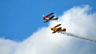 Aproape 40 de aeronave au încântat spectatorii. FOTO AIT