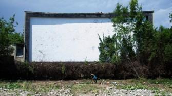 Grădina de Vară din Eforie Sud a fost lăsată în paragină
