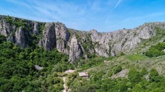 Trasee de vizitare a defileului Rezervației Naturale Cheile Turenilor. FOTO CJ Cluj
