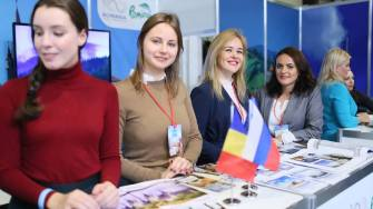 România, promovată la Târgul de Turism de la Sankt Petersburg. FOTO Kalinka Travel