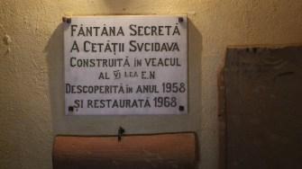 Fântâna secretă a cetății Sucidava. FOTO Adrian Boioglu