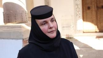 Maica Evdochia Niculae de la Mănăstirea Brâncoveni din Olt. FOTO Adrian Boioglu