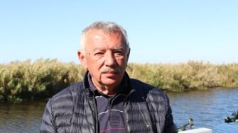 Cornel Găină, administratorul Complexului Cormoran. FOTO Adrian Boioglu