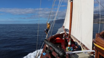 Plimbare cu corabia piraților din Tenerife. FOTO Adrian Boioglu