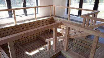 Lucrările la centrul wellnes din Borsec au început în 2011. FOTO CJ Harghita