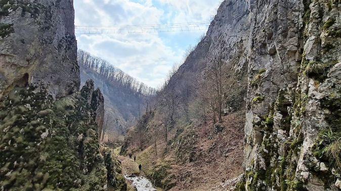 Un nou traseu de Via Ferrata în județul Bihor. FOTO CJ Bihor
