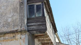 Clădire din Sulina. FOTO Paul Alexe
