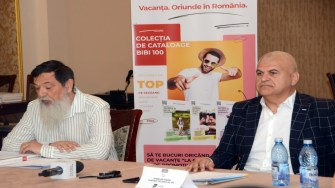 Adi Voican și Aurelian Marin. FOTO Ovidiu Oprea