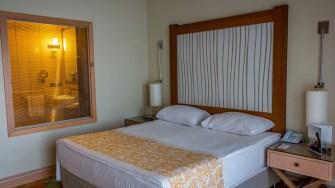 Dormitorul vilei din Xanadu. FOTO Paul Alexe