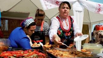 Sărbătoarea Borșului de Pește de la Crișan. FOTO Paul Alexe