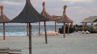 Plaja de la Gura Portiței. FOTO Adrian Boioglu