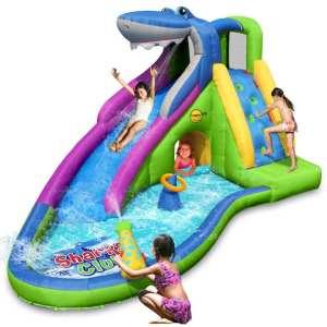 Gonfiabile acquatico squalo scivolo piscina vendita online occasione gioco estate mare