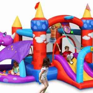 Gonfiabile draghetto multigioco scivolo saltarello gonfiabile piscina per bambini offerta online