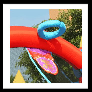 Gonfiabile draghetto multigioco scivolo saltarello gonfiabile piscina per bambini offerta online economico