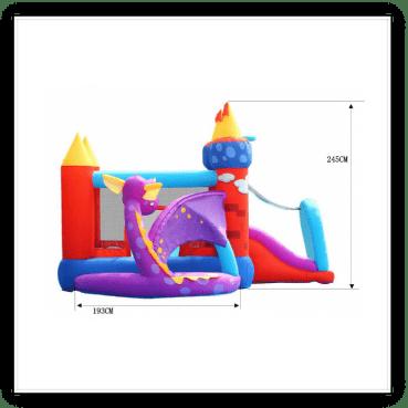 Gonfiabile draghetto multigioco scivolo saltarello gonfiabile piscina per bambini offerta online ecommerce