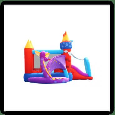 Gonfiabile draghetto multigioco scivolo saltarello gonfiabile piscina per bambini offerta online prezzo