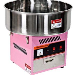 Macchina professionale dello zucchero filato vendita cupola da tavolo automatica offerta
