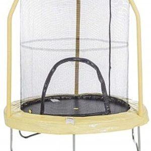Trampolino elastico per saltare completo di rete di protezione D.140 entry my first base rete elastica