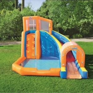 Gioco Gonfiabile acquatico Scivolo Splash Piscina per bambini in vendita giochi gonfiabili occasione
