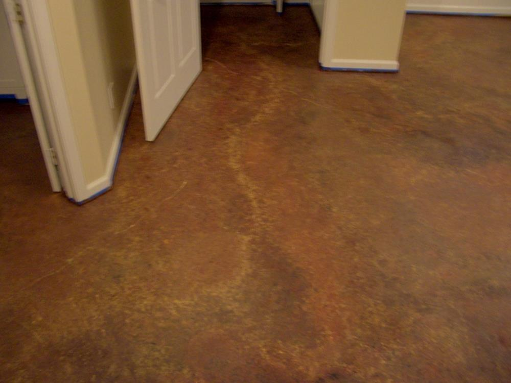 Basement Concrete Floor Paint Color Ideas 15