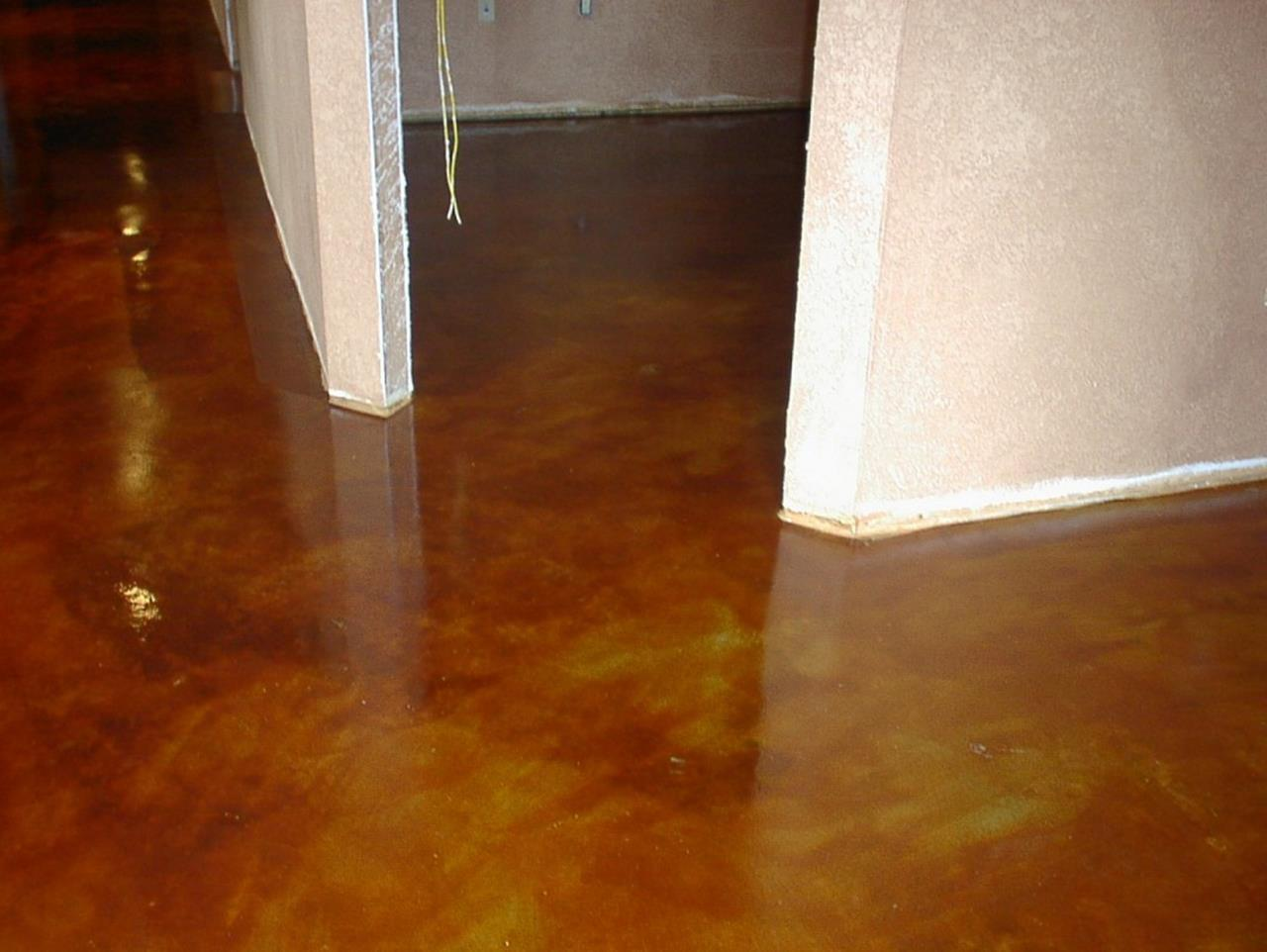 Basement Concrete Floor Paint Color Ideas 24