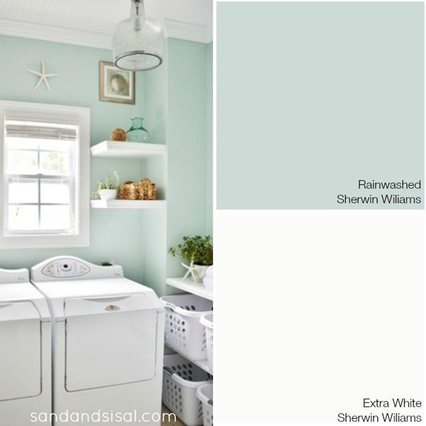 Best Paint Color For Small Laundry Room 1
