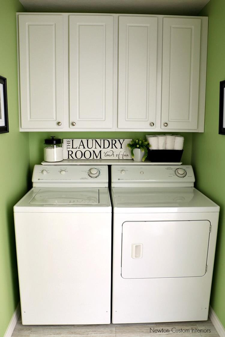 Best Paint Color For Small Laundry Room 19