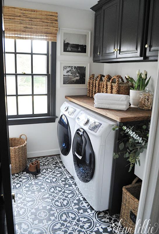 Best Paint Color For Small Laundry Room 27