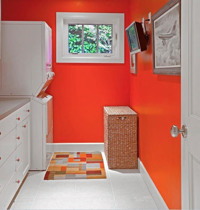 Best Paint Color For Small Laundry Room 33