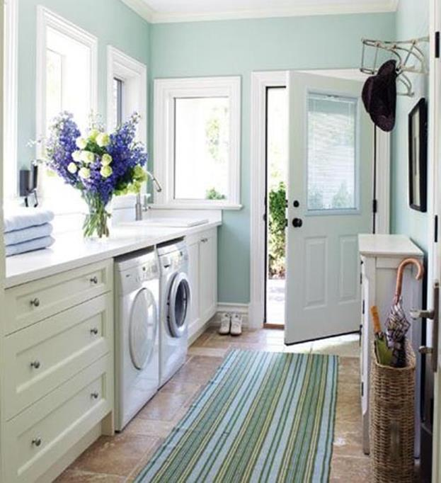Best Paint Color For Small Laundry Room 9