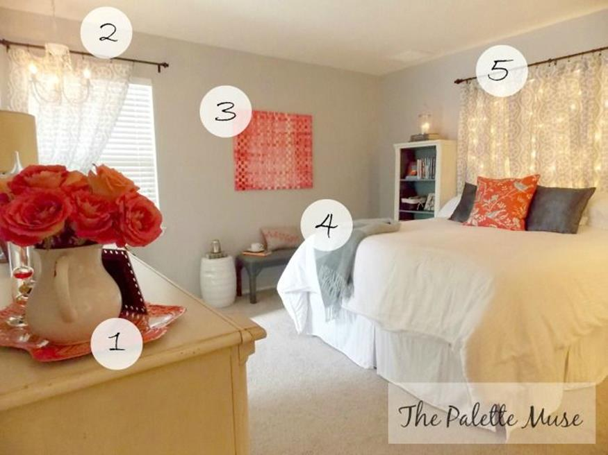 DIY Small Bedroom Makeover On a Budget 4