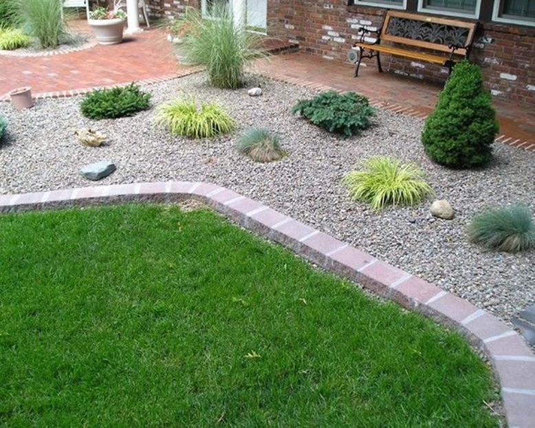 Landscaping Ideas With Rocks And Mulch 23