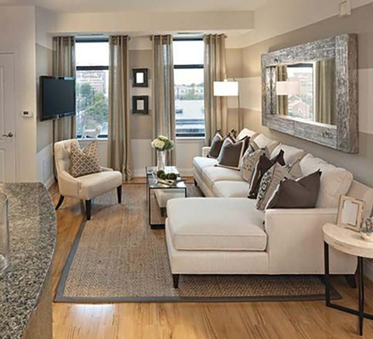 Living Room Furniture Ideas For Small Spaces 25