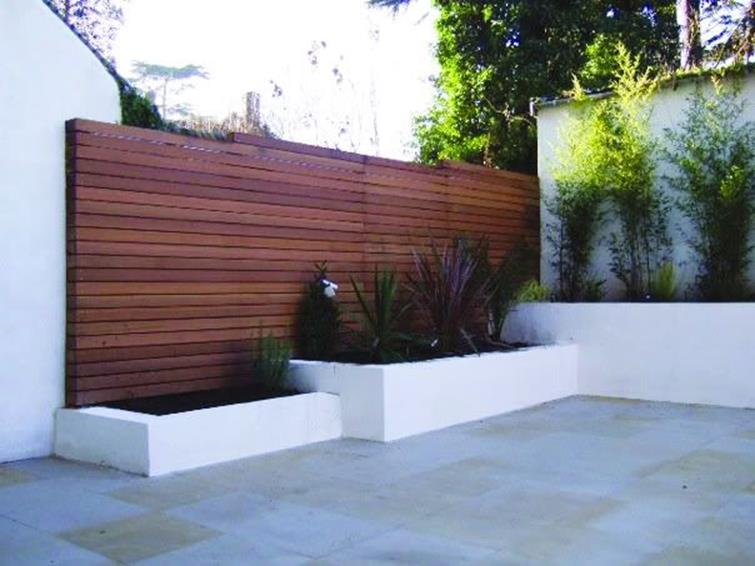 Modern Wood Fence Design Ideas 10