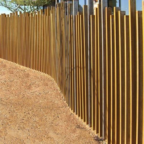 Modern Wood Fence Design Ideas 5