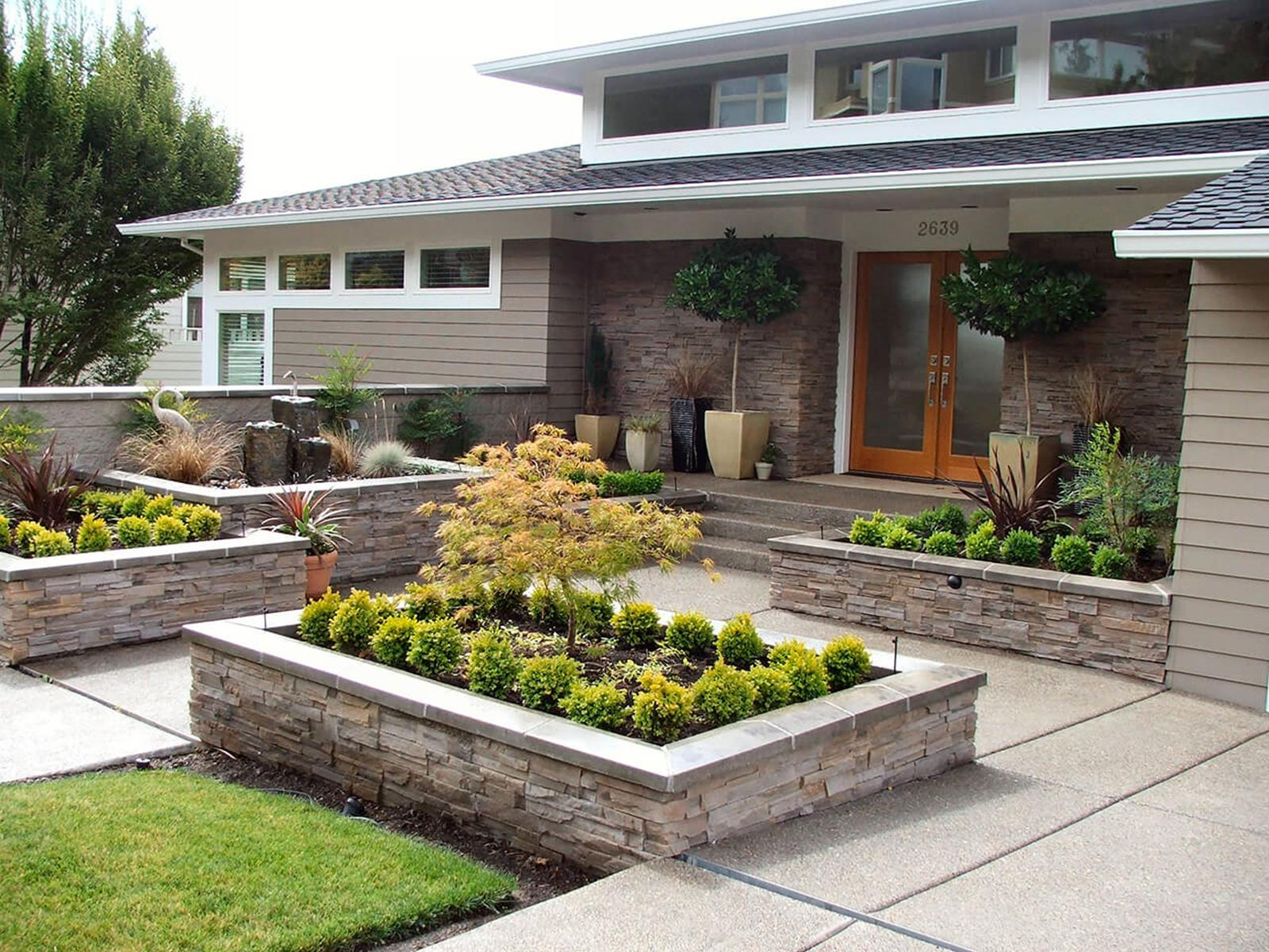 Perfcet Easy Garden Landscaping Design Ideas 3