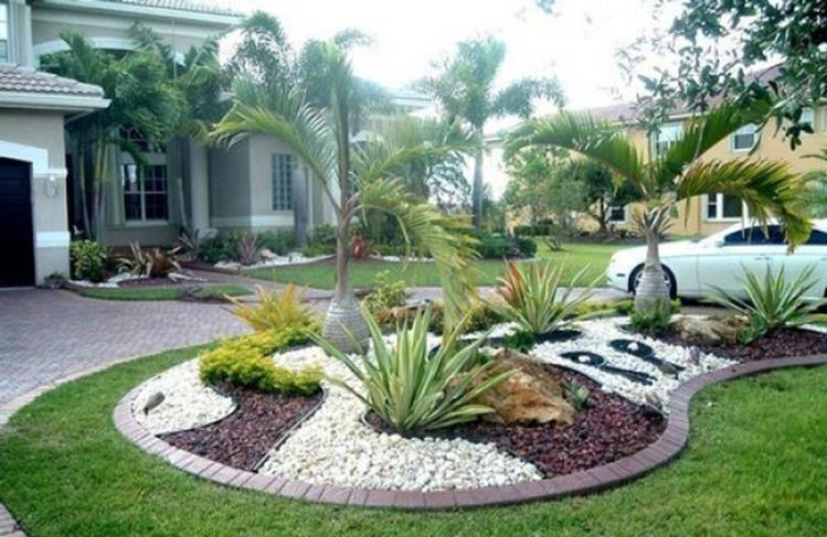 Perfcet Easy Garden Landscaping Design Ideas 6