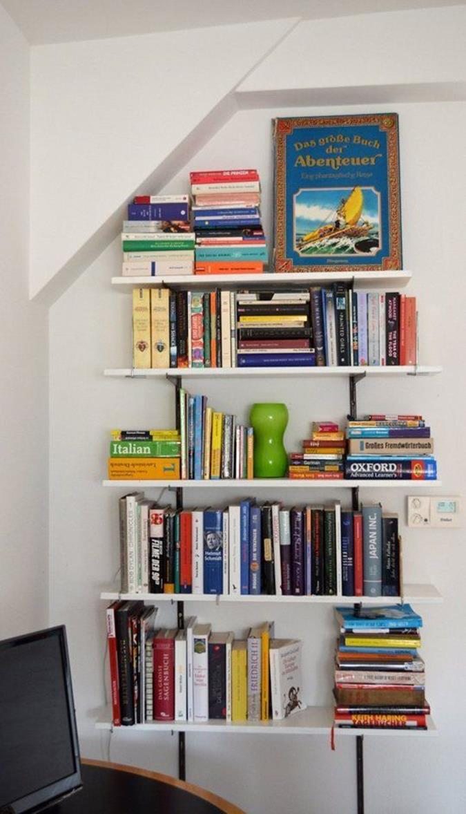Perfect Bookshelves For Small Spaces and Decor Ideas 24