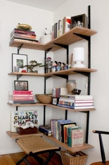 Perfect Bookshelves For Small Spaces and Decor Ideas 36
