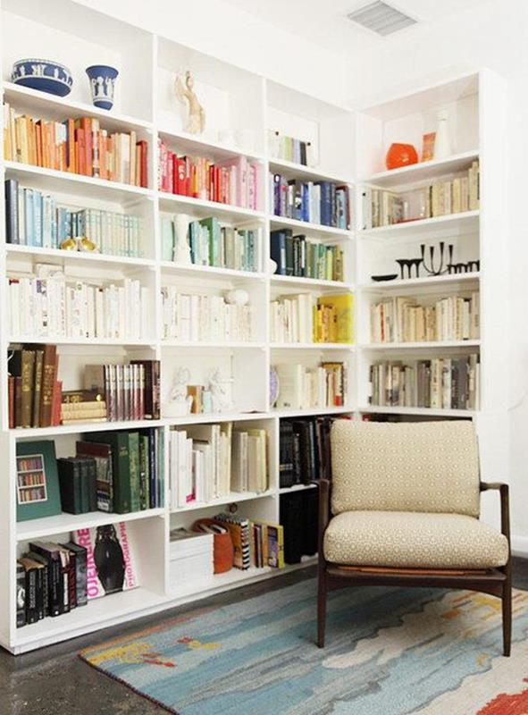 Perfect Bookshelves For Small Spaces and Decor Ideas 38