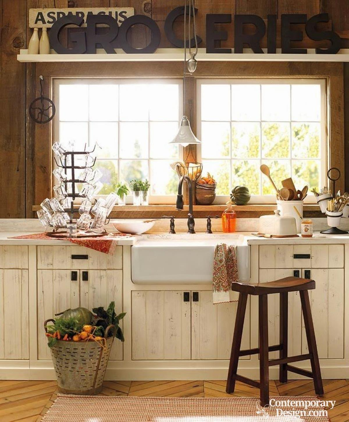 Small Country Kitchens Design and Decor Ideas 9