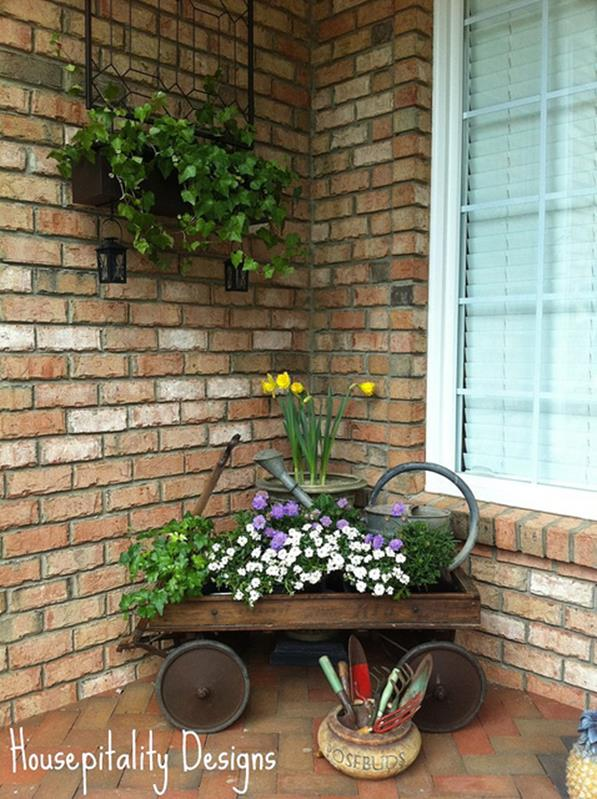 Spring Garden Decorating Ideas for Front Porch 11
