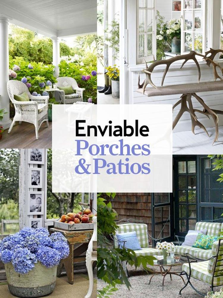 Spring Garden Decorating Ideas for Front Porch 16