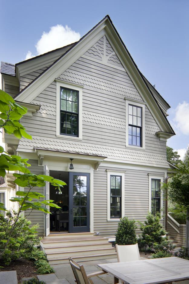 Traditional Farmhouse Interior and Exterior Colors Ideas 36