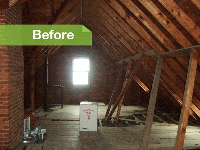 Walk Up Attic Remodeling Ideas 9