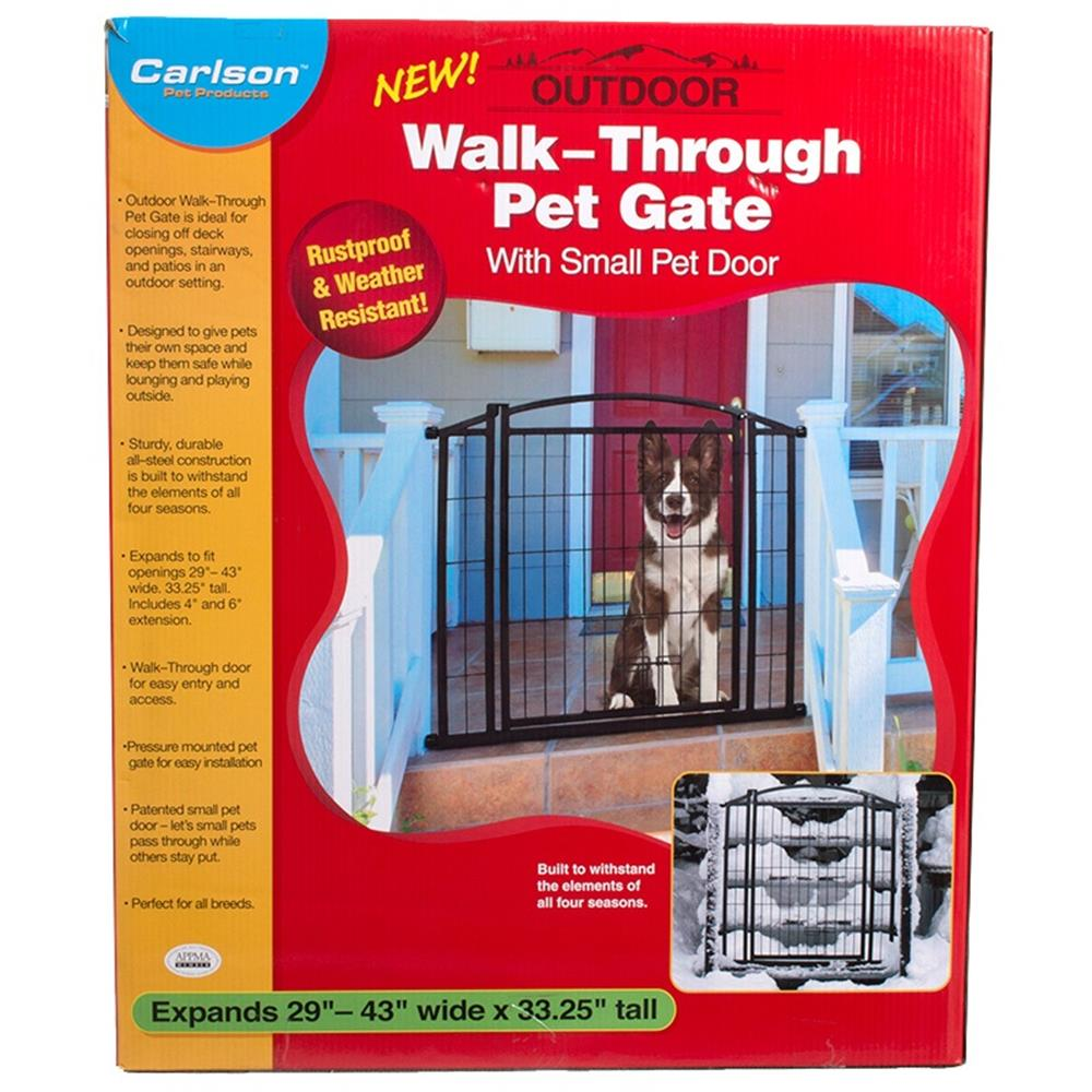 Walk through Dog Gates Outdoor 19